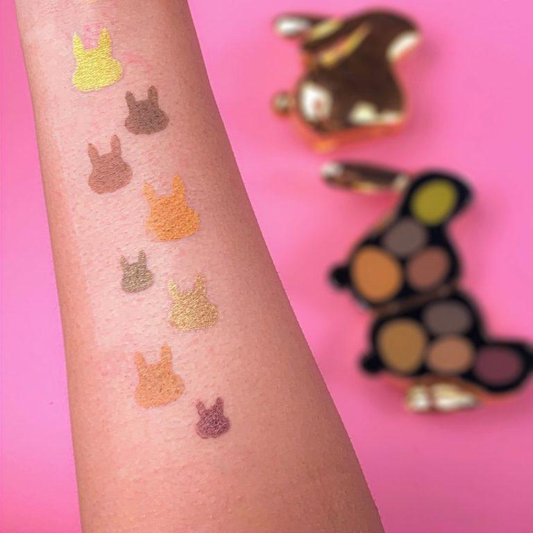 I Heart Revolution Bunny Palettes Stardust Swatches