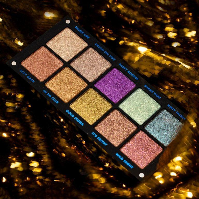 Inglot Cosmetics Partylicious 2.0 Freedom System Creamy Eyeshadows Promo Cover
