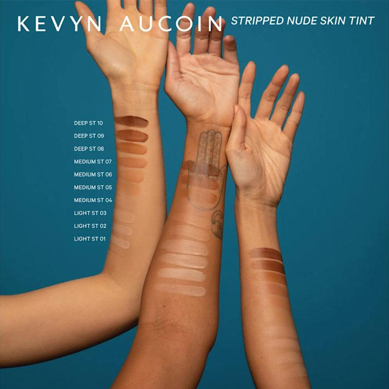 Kevyn Aucoin Stripped Nude Skin Tint Arm Swatches