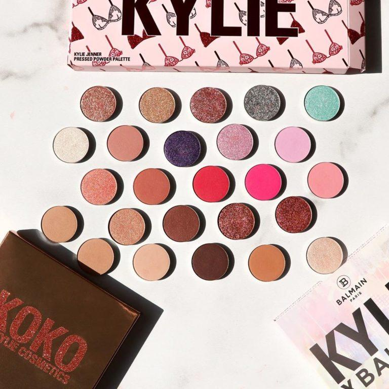 Kylie Cosmetics Build Your Own Palette & 31 New Single Eyeshadow Shades Promo With Kylie Palettes