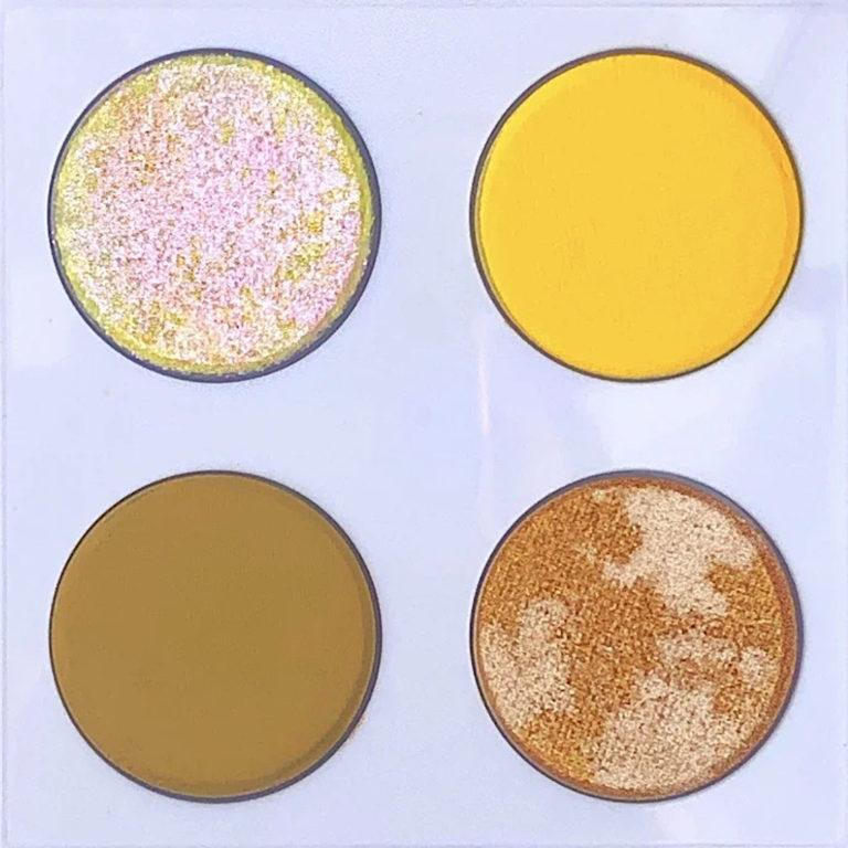 Love Luxe Beauty Honey Honey Chrome Quad