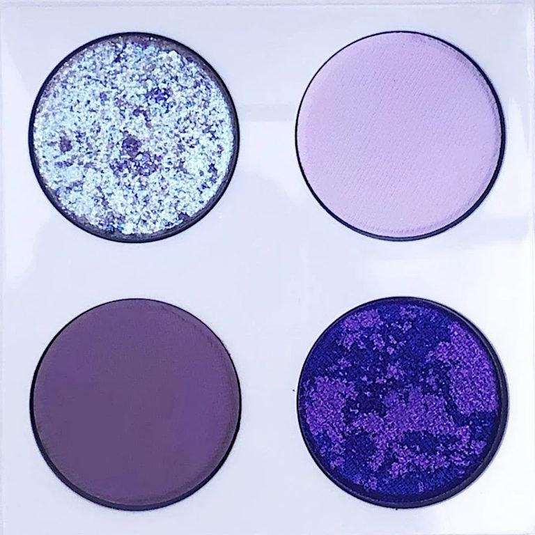 Love Luxe Beauty Lush Lavender Chrome Quad