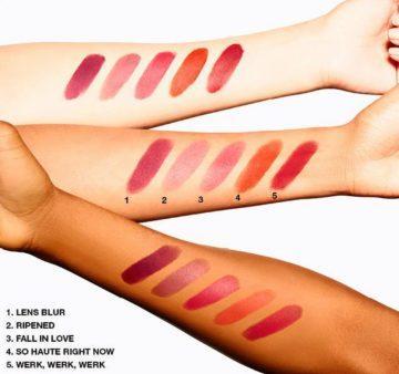 MAC Cosmetics New Powder Kiss Eyeshadow Arm Swatches 2