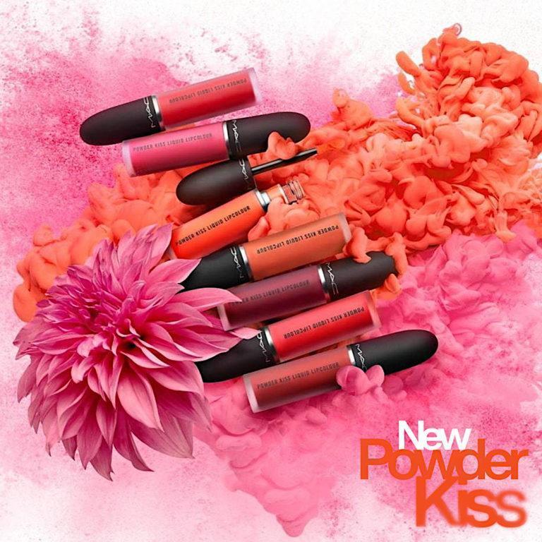 MAC Cosmetics New Powder Kiss Post Cover