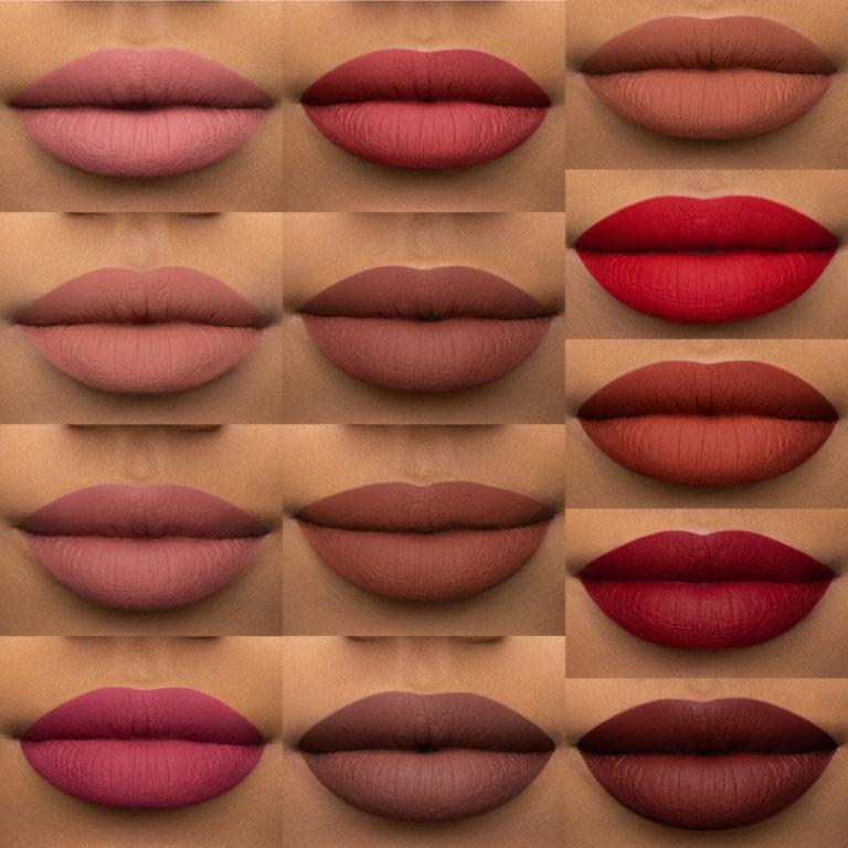 Melted Matte Liquified Long Wear Lipstick All Lip Swatches
