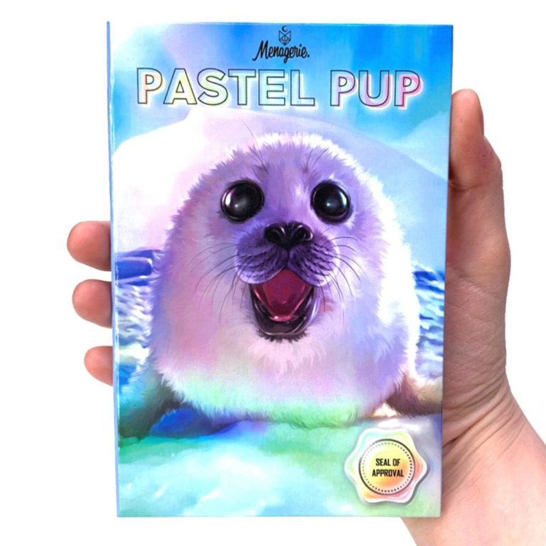 Menagerie Cosmetics Pastel Pup Palette Closed Cover