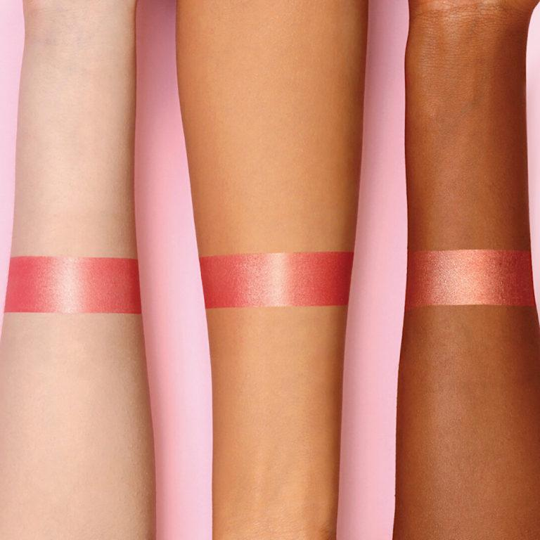 Mini Bloom Highlighting Blush Arm Swatches
