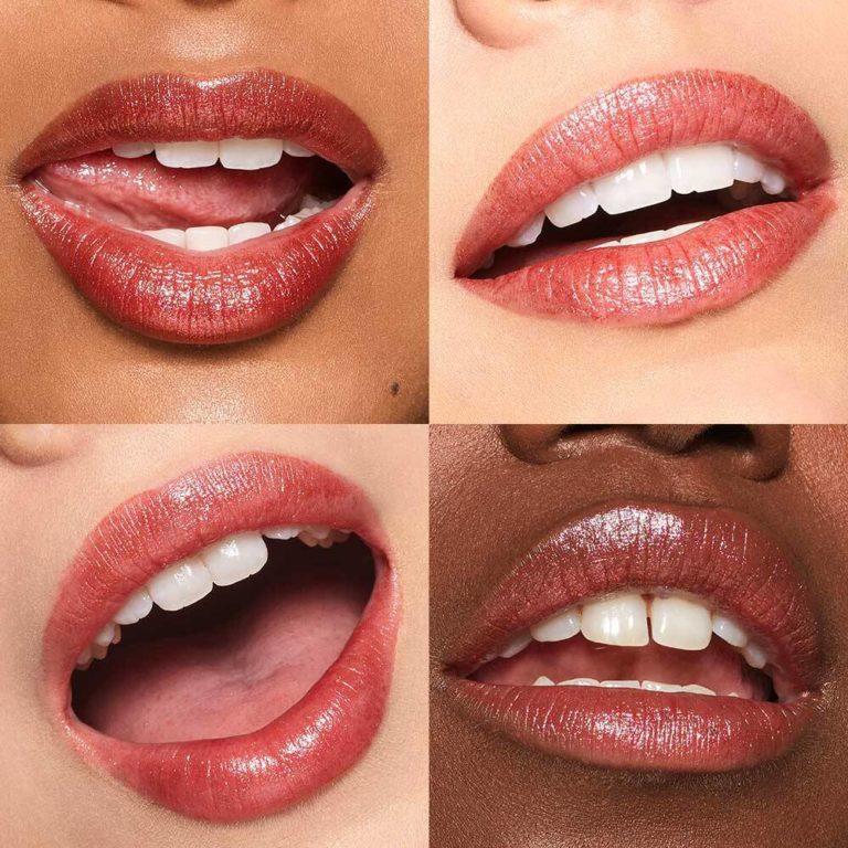 Moondust Lip Eclipse Shimmer Lipstick In Solar Flare Lip Swatches