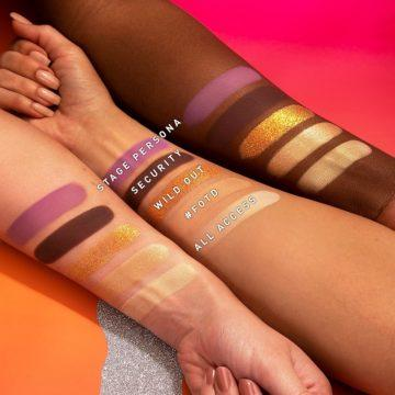 Morphe x Saweetie Collection Palette Swatches Row 1