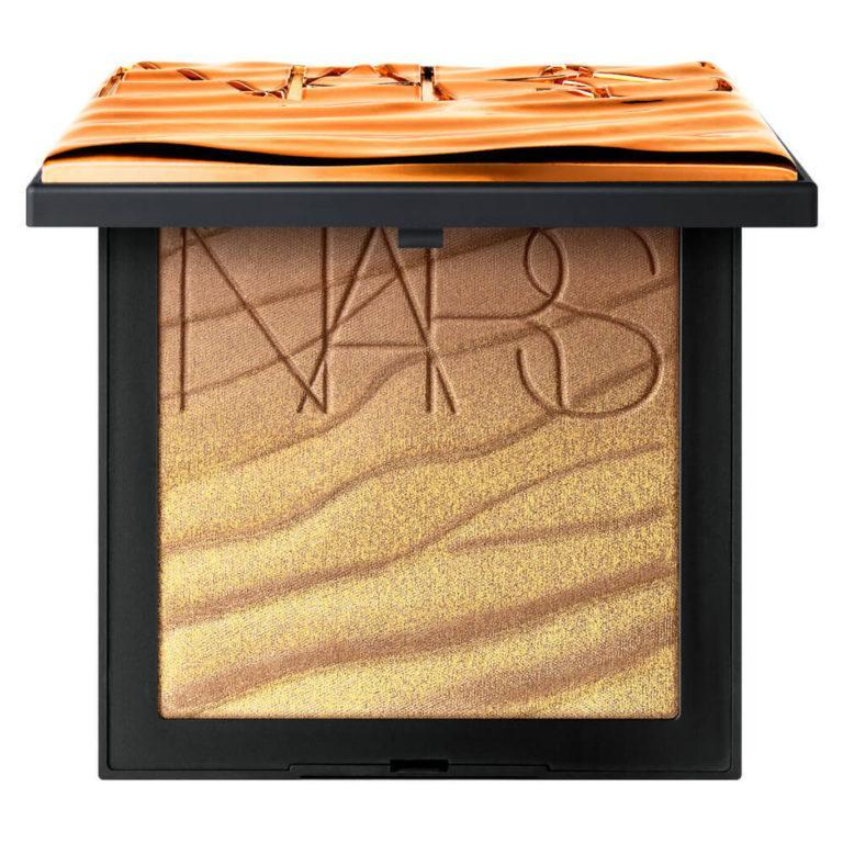 NARS Summer 2020 Paradise Found Bronze Collection Body Bronzing Palette Open