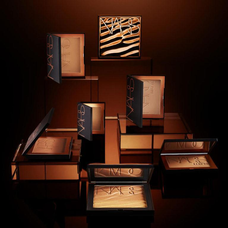 NARS Summer 2020 Paradise Found Bronze Collection Matte, Shimmer & Body Bronzing Powders Promo