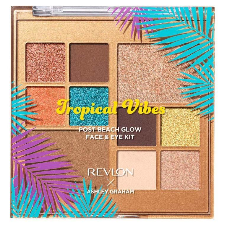 Revlon x Ashley Graham Tropical Vibes Collection All in One Eye and Face Palette