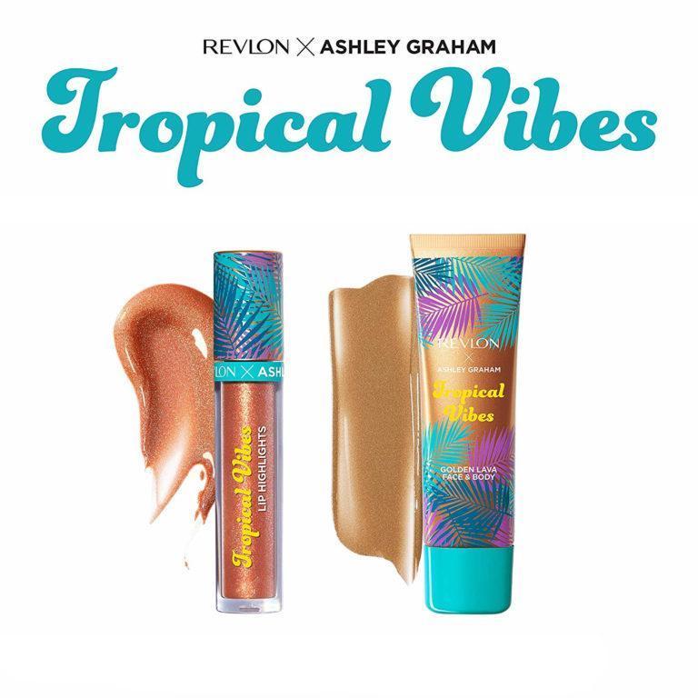 Revlon x Ashley Graham Tropical Vibes Collection Tropical Heat Kit