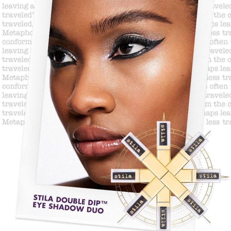 Stila Double Dip™ Suede Shade™ & Glitter & Glow Liquid Eye Shadows Model 2