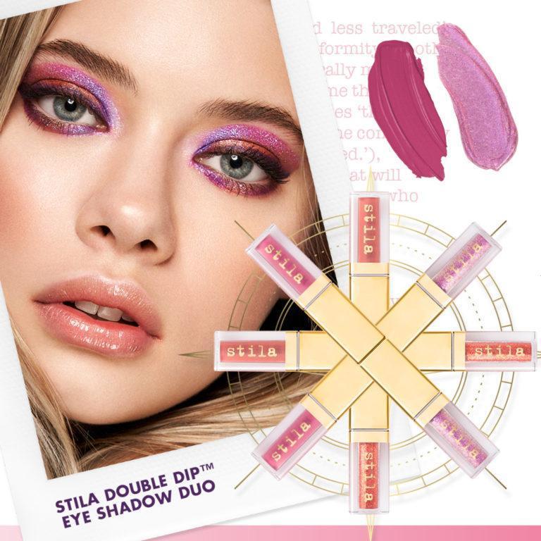 Stila Double Dip™ Suede Shade™ & Glitter & Glow Liquid Eye Shadows Post Cover
