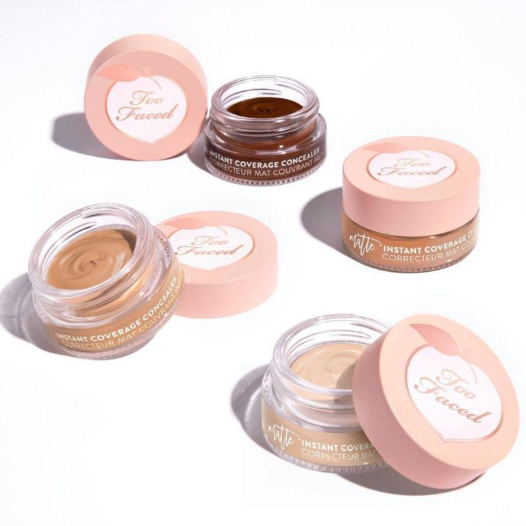 Too Faced Peach Perfect Instant Coverage Matte Concealer Sneak Peek
