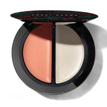 Bobbi Brown Summer 2020 Flower Motif Collection Blush & Glow Duo Limited Edition In Fresh Melon & Magnolia Glow