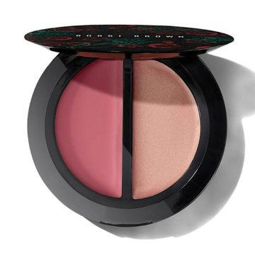 Bobbi Brown Summer 2020 Flower Motif Collection Blush & Glow Duo Limited Edition In Pale Pink & Petal Glow