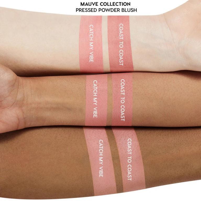 Colourpop Mauve Collection Blushes Swatch