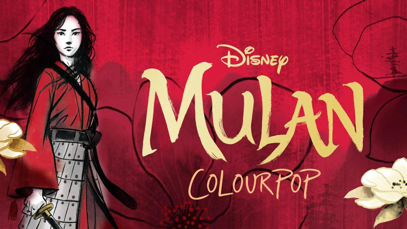 Colourpop x Mulan Collection cover