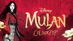Colección Mulan de Colourpop
