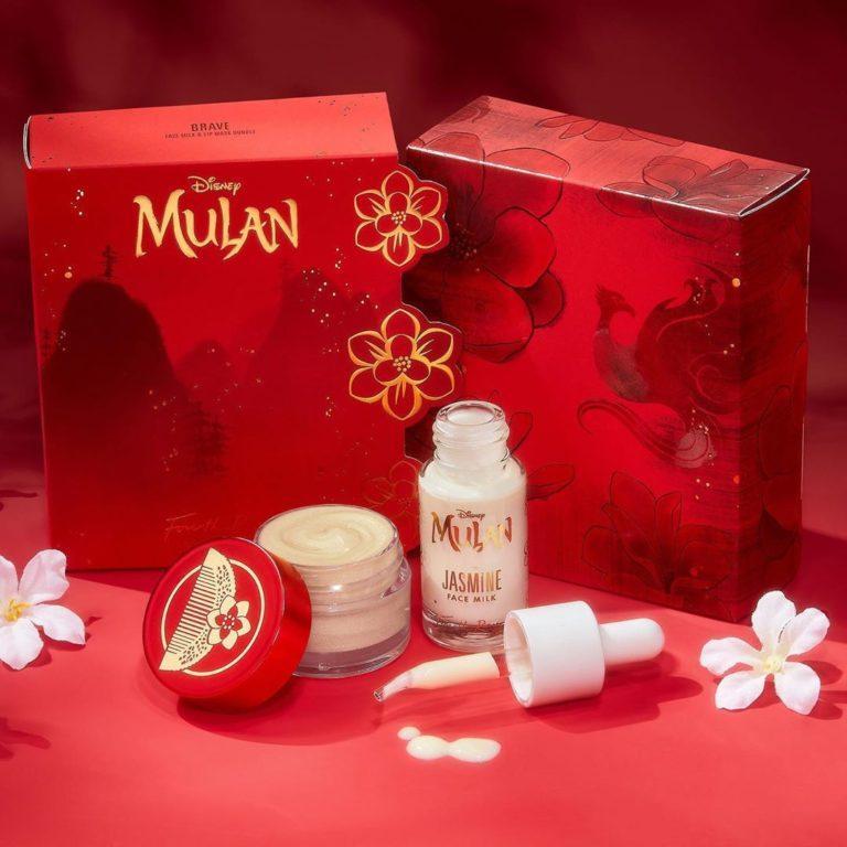 Colourpop x Mulan Fourth Ray Beauty Face Milk & Lip Mask Bundle promo