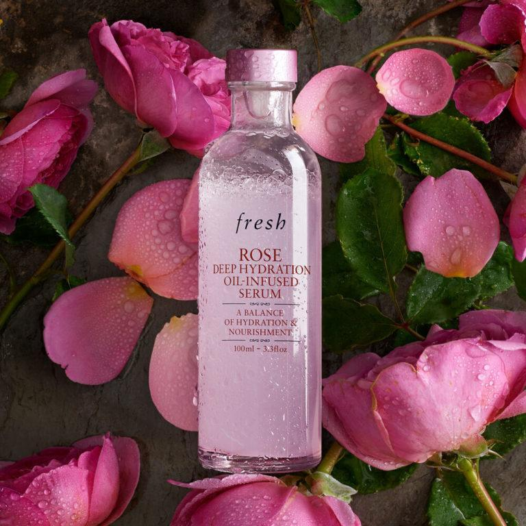 Fresh Rose Deep Hydration Oil Infused Serum Post Cover