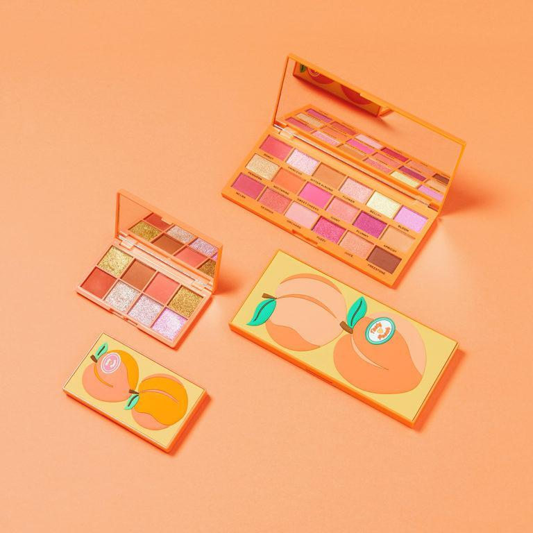 I Heart Revolution Tasty Peach Collection Eyeshadow Palettes