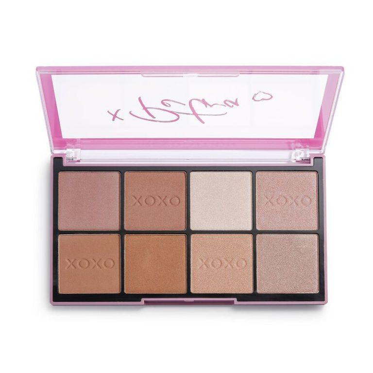Makeup Revolution x Petra XOXO Contour & Highlight Palette