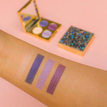 Revolution Pro Hidden Jewels Eyeshadow Palette Swatches