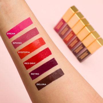 Revolution Pro Hydra Matte Liquid Lipstick Swatch 1