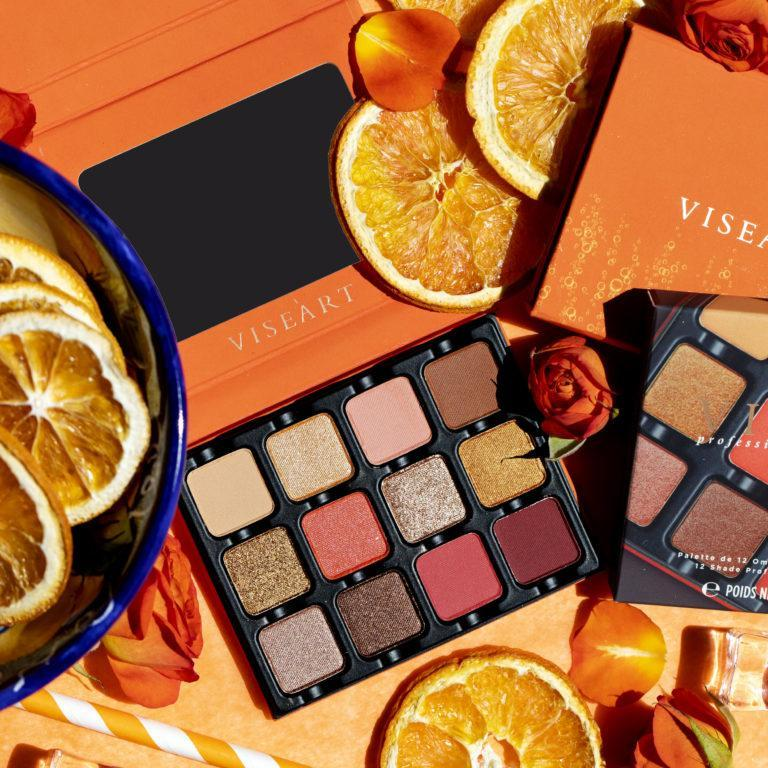 Viseart Spritz Edit Eyeshadow Palette Promo Oranges