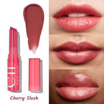 e.l.f. Cosmetics Sheer Slick Lipstick Cherry Slush
