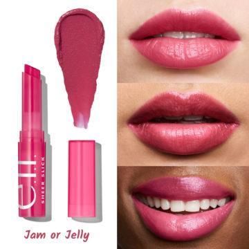 e.l.f. Cosmetics Sheer Slick Lipstick Jam or Jelly