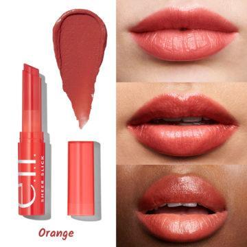 e.l.f. Cosmetics Sheer Slick Lipstick Orange