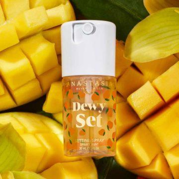 Anastasia Beverly Hills Mini Dewy Set Setting Spray In Mango Promo