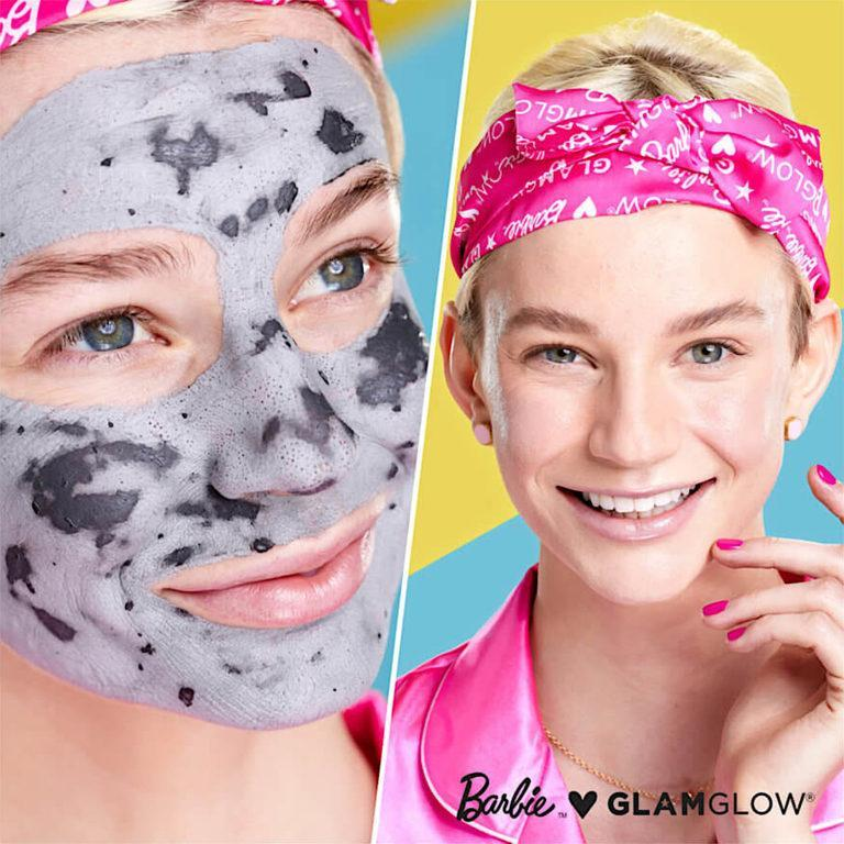 Barbie™ x GLAMGLOW® Limited Edition SUPERMUD® Clearing Treatment Mask model