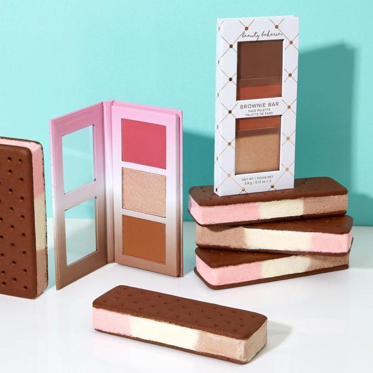 Beauty Bakerie Neapolitan Bar & Brownie Bar Face Palettes