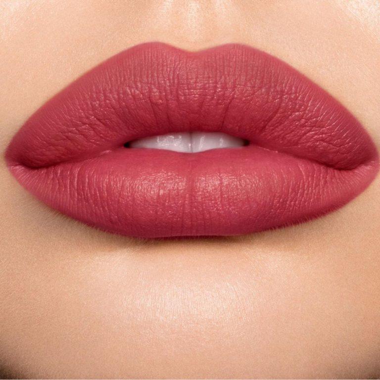 Charlotte Tilbury Matte Revolution Lipstick in First Dance Lip Swatch