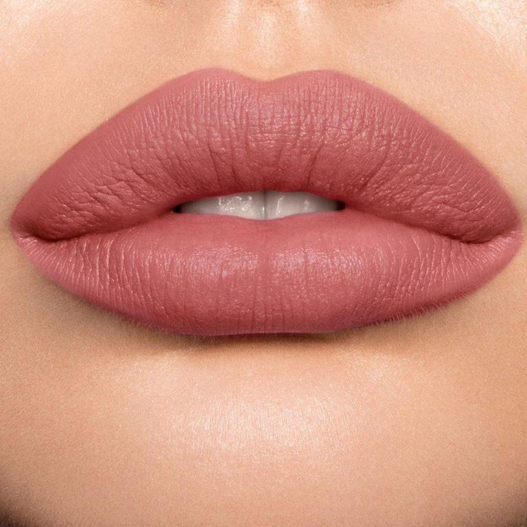 Charlotte Tilbury Matte Revolution Lipstick in Wedding Belles Lip Swatch