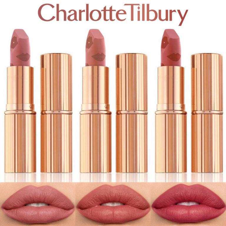 Charlotte Tilbury Matte Revolution Lipstick new shades cover