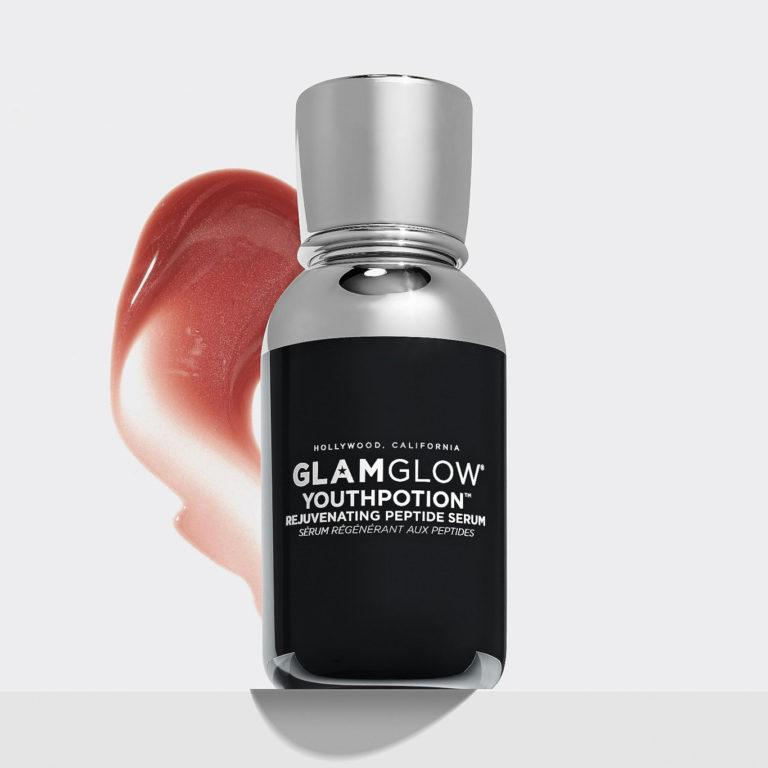 GlamGlow Youthpotion Rejuvenating Peptide Serum With Smudge
