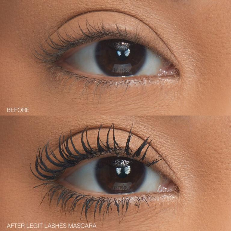 Huda Beauty Legit Lashes Before And After Kara