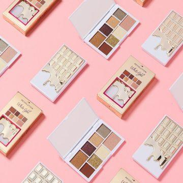 I Heart Revolution White Gold Mini Chocolate Eyeshadow Palette Promo
