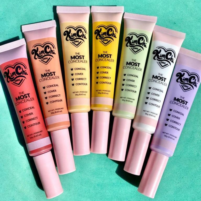 KimChi Chic Beauty The Most Concealers Color Correctors Promo all shades