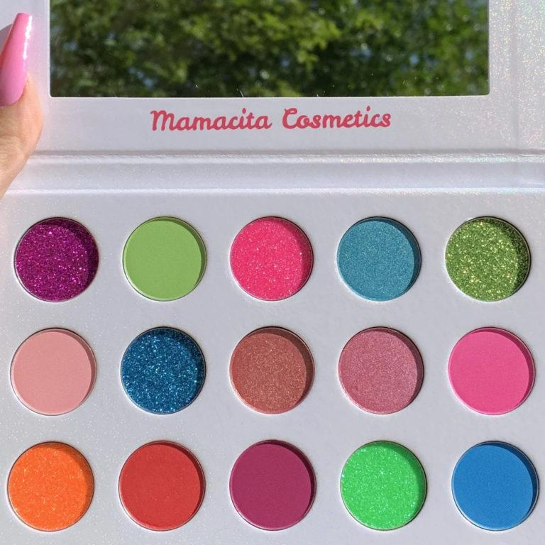 Mamacita Cosmetics Hello Summer Palette Promo Open Closer Look