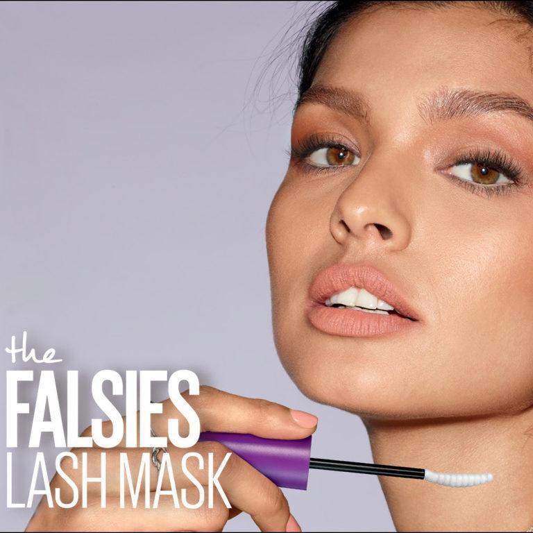 Maybelline The Falsies Lash Mask Promo Model
