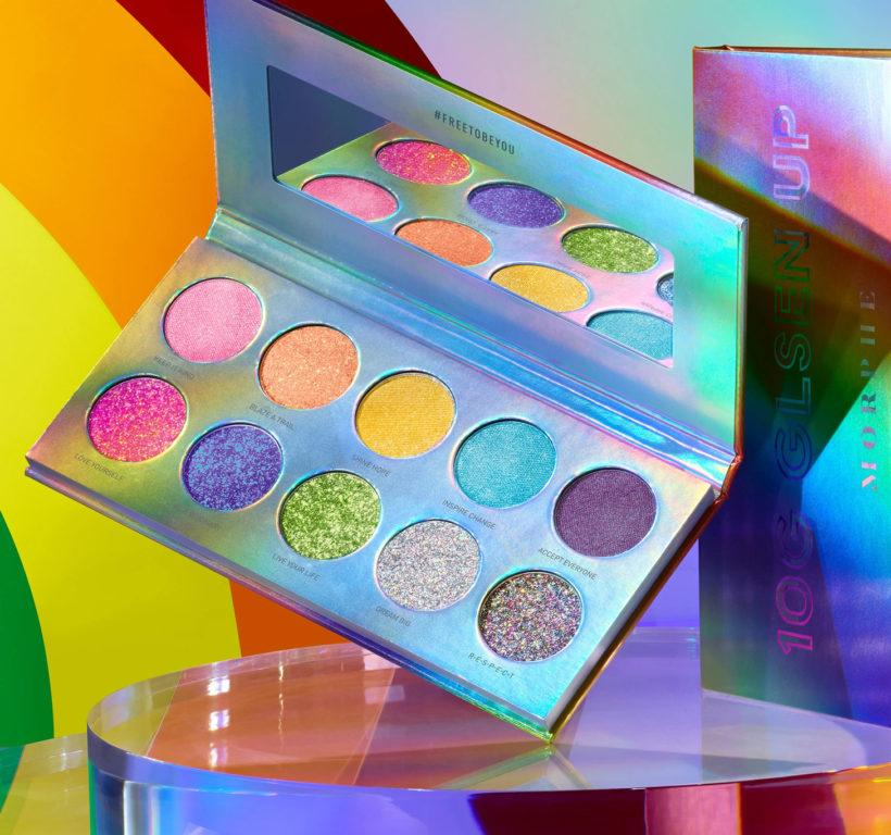 Morphe Free To Be Collection 10G GLSEN UP Artistry Palette Promo