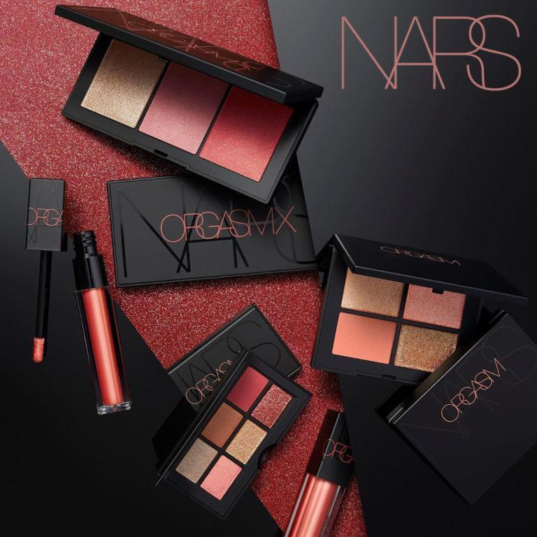 NARS Orgasm X Collection Post Cover Logo