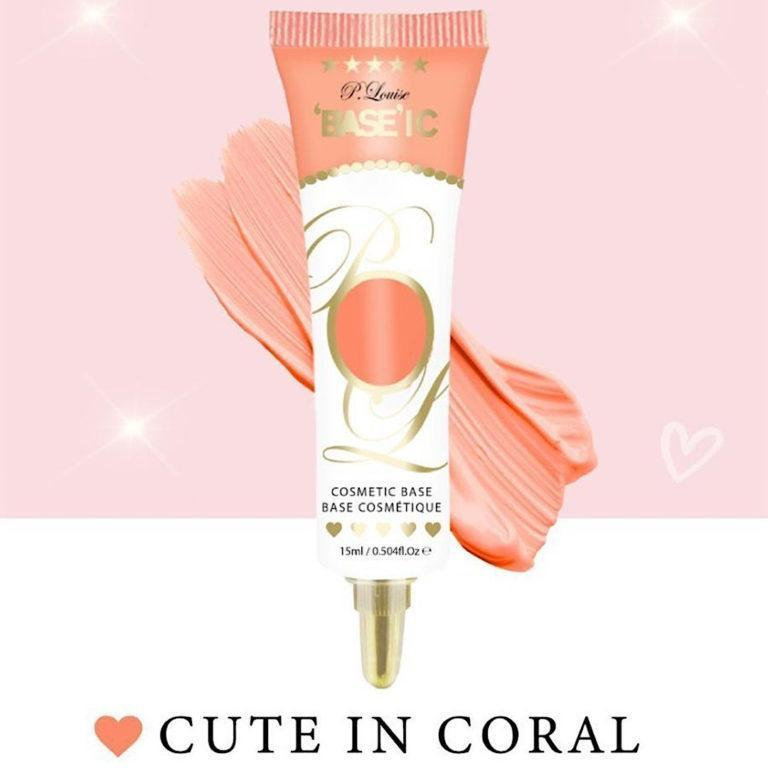 P. Louise Makeup Academy Pastel Base In Cute In Coral Promo